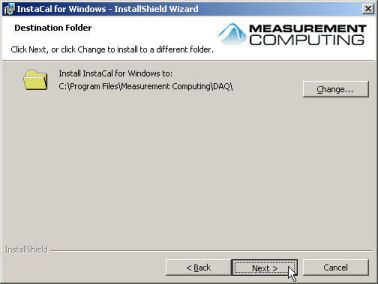Choose the path to your desired installation folder